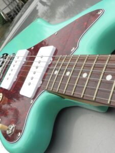 top view of Jazzmaster